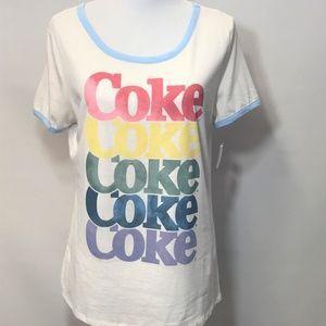 NWT Coca Cola Retro T-Shirt Size XL